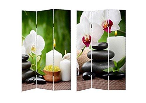 Paravent Beauty Sichtschutz Spanische Wand Raumteiler NEU OVP