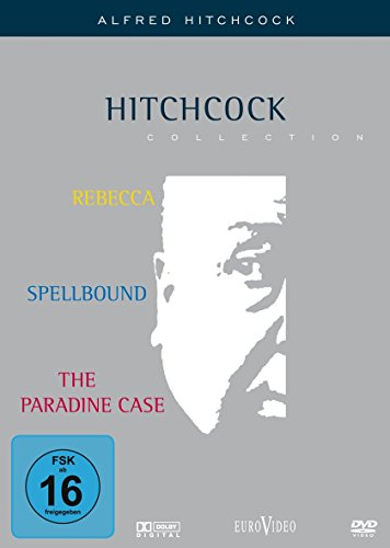 Hitchcock-Collection: Rebecca / Spellbound / The Paradine Case [3 DVDs]