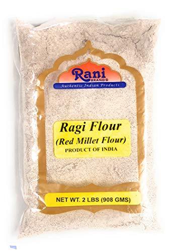 Rani Raggi Flour (Finger Millet) 2 Pound, 2lbs (32oz) Bulk ~ All Natural   Vegan   Gluten Free Ingredients   NON-GMO   Indian Origin