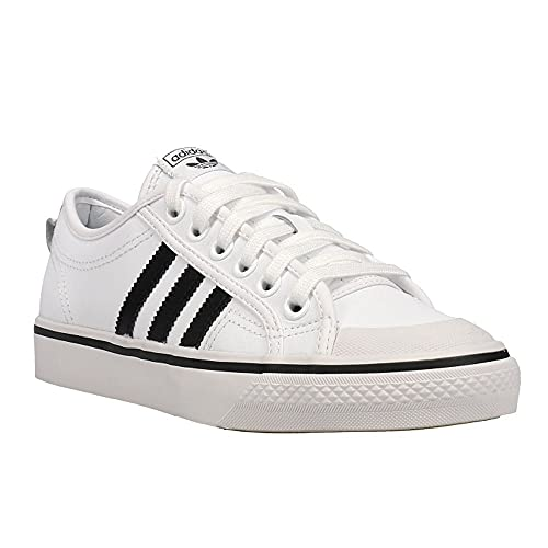 adidas Mens Nizza Sneakers Shoes Casual - White - Size 7 D