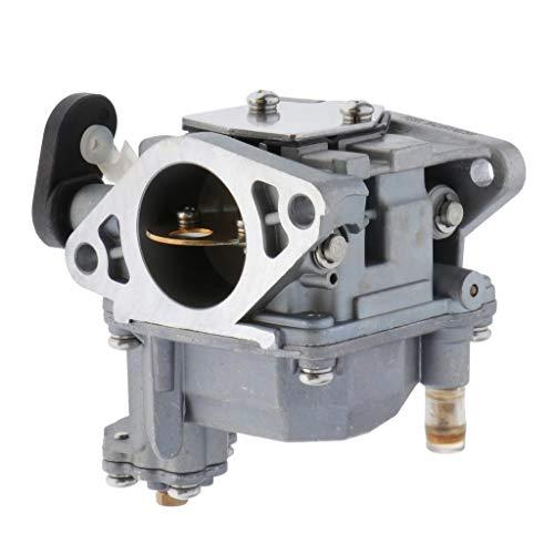 MERIGLARE 66M-14301-12-00 Carburador para Motores Fueraborda Yamaha F15 de Arranque Eléctrico de 4 Tiempos Y 15 CV