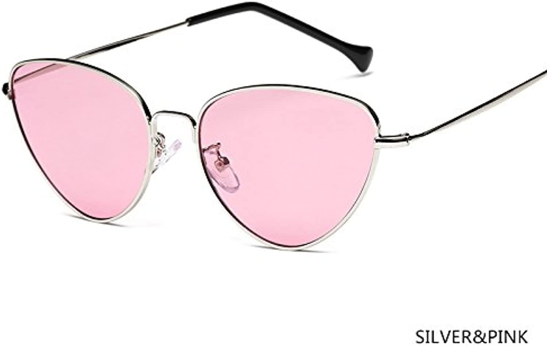 ZHANGYUSEN 2018 Fashion damen Sunglasses Cat Eye Vintage Ladies Retro Retro Retro Mirror Glasses Luxury Unisex Eyewear B07DYSH186  Modern 88b58d