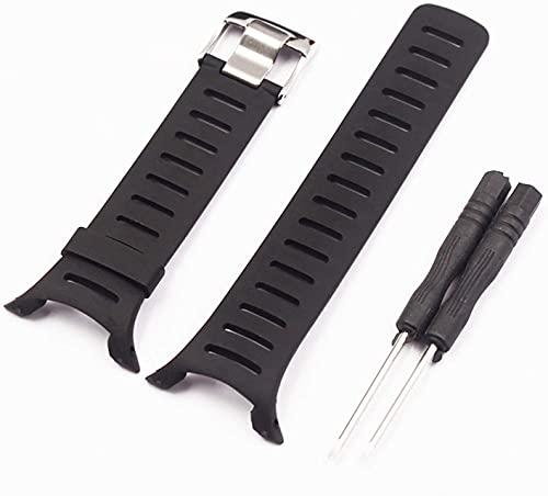 Cinturino in silicone di ricambio in gomma morbida per SUUNTO T Series T1 T1C T3 T3C T3D T4C T4D Cinturino per orologio da donna