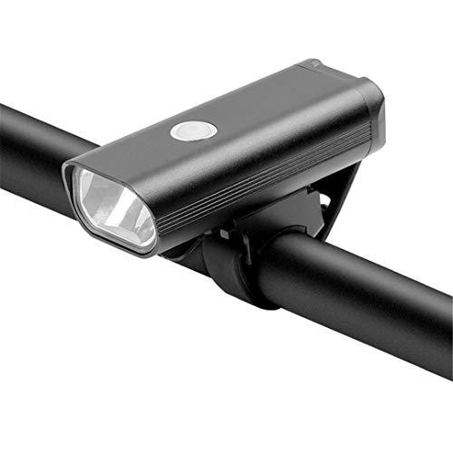 Luz Delantera de la luz de la luz de la luz Recargable de la luz de la Bicicleta USB de 2000mAh, Usado para la luz Frontal Impermeable de la Manillar de la Bicicleta de Carretera MTB Set F