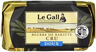 LE GALL Drum Churning Butter Unpasteurized Unsalted, 250g - Chilled