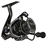 Sunrise Angler Scout 3000 Freshwater Spinning Reel | Lightweight 8.6 oz Carbon Fiber Body | Triple Disc 24+ lbs Max Drag | 10+1 Stainless Steel BB | 5.2:1 Gear Ratio | EVA Grip