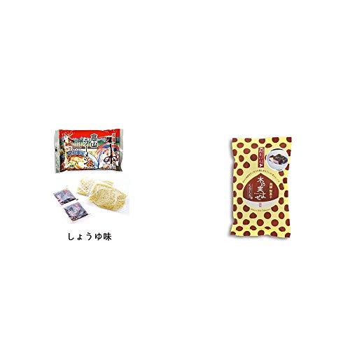[2点セット] 飛騨高山ラーメン[生麺・スープ付 (しょうゆ味)]・木の実よせ くりくり味(5個入)