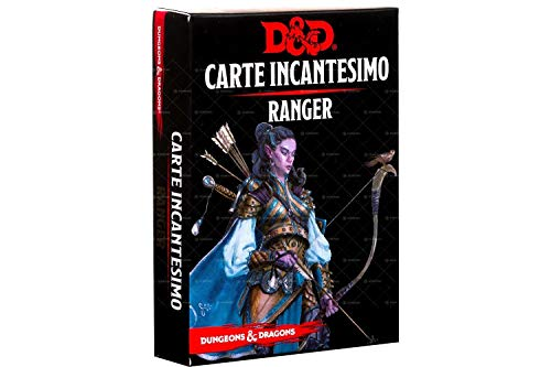 Asmodee- Dungeons & Dragons 5a Edizione Carte Incantesimo Ranger, Colore, 4010