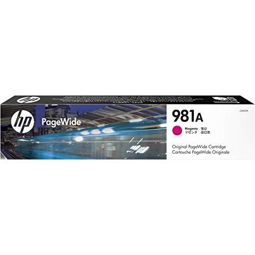HP 981A (J3M69A) Original PageWide Druckerpatrone (für HP PageWide Enterprise) rot