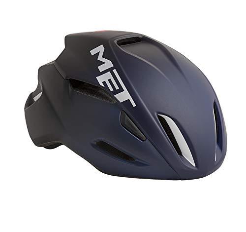MET Fahrradhelm m3hm105m0bl1, M, Blau, Unisex