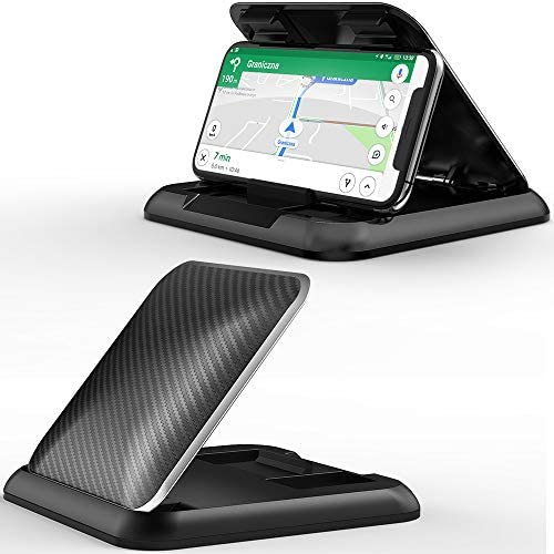 Phone Car Holder Mount RAXFLY Dashboard Cell Phone Holder for Car Universal Anti Slip Silicone product image