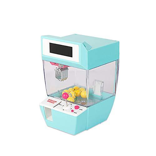 Forart Mini Klauenmaschine, Kreative Wecker Arcade Elektronische Kran Klauen Spiel, Klaue Grabber Toy Balls Candy Grabber Maschine