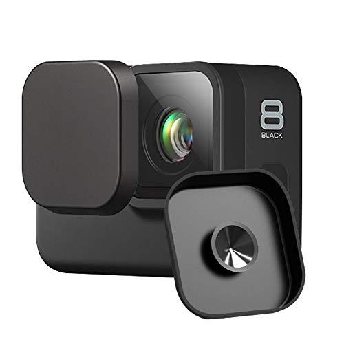 Tapa De Lente Para Protección De Lentes - Silicona Suave Tapa Para GoPro Hero 5/6/7/8 Negro