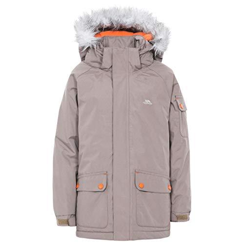 Trespass Holsey Boys Waterproof Jacket - Pecan 7/8