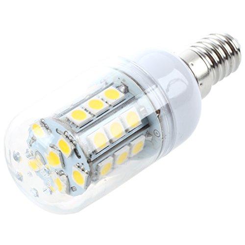 Preisvergleich Produktbild SODIAL(R) 4x E14 30 5050 SMD LED Spotlight Einbaustrahler Leuchte Warmweiss 4.5W 200-240V