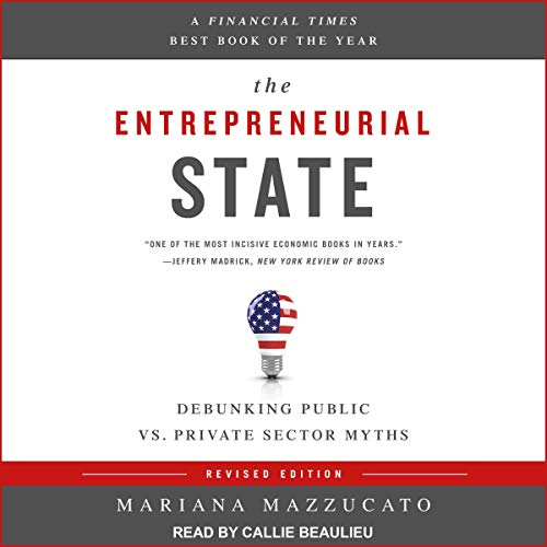 The Entrepreneurial State audiobook cover art