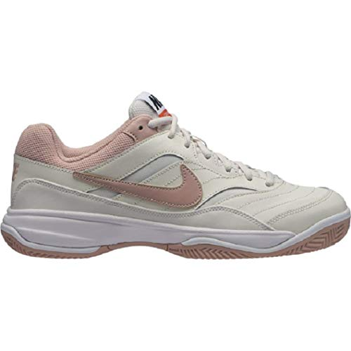 Nike Wmns Court Lite Cly, Scarpe da Tennis Donna, Multicolore (Phantom/Particle Beige/Sail/Black 002), 41 EU