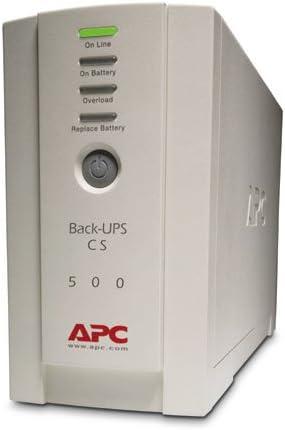 APC Back-UPS CS 500 - UPS - 300 Watt - 500 VA (BK500) -
