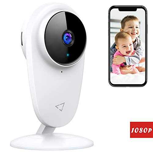 Victure 1080P FHD Baby Monitor Pet Camera 2.4G Wireless Indoor Home Security Camera with Two-Way Audio Motion Detection Night Vision for...