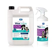 RSPCA Wee Away Pet Friendly Stain and Odour remover 1L + 5L Refill