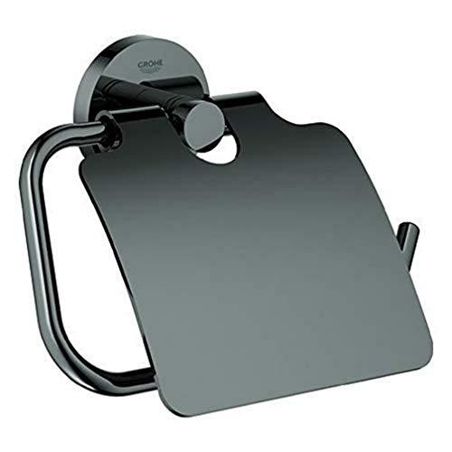 Grohe Essentials Papierhalter m/Deck., Silber