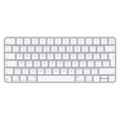 Apple Magic Keyboard with Touch ID (for Mac computers with Apple silicon) - British English - Silver