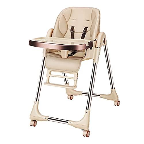 Sedia Da Pranzo Per Bambini Poltroncina pieghevole portatile multifunzionale che mangia la sedia con il pasto regolabile del bambino Sedia Da Pranzo Multifunzionale ( Color : Pink , Size : 54x96cm )