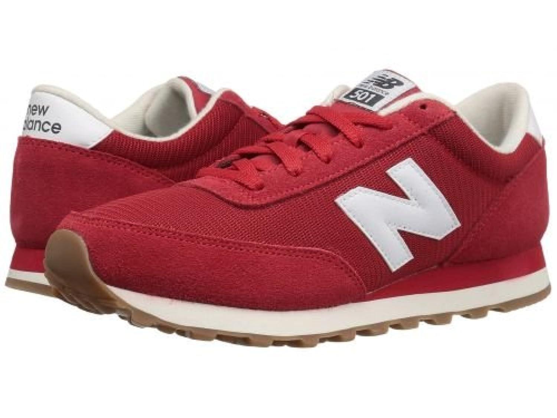 New Balance Classics(ニューバランス クラシック) メンズ 男性用 シューズ 靴 スニーカー 運動靴 ML501 - Red/White [並行輸入品]