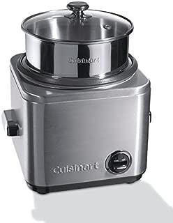 Cuisinart CRC800E 电饭锅(700W 12 份 1 升)金属
