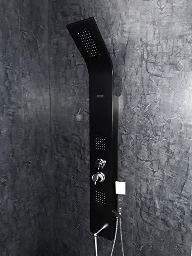 Jaaz Aluminium Shower Panel (Standard Size, Imperial Black)