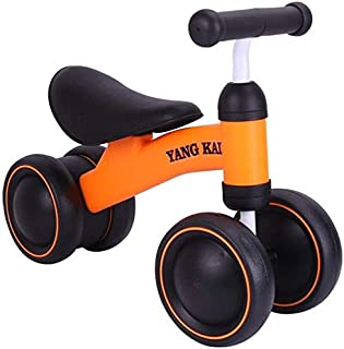 Safe Riding Toy Baby Balance Bikes Bicycle Baby Toys for 1 Year Old Boy Girl 10-24 Months Toddler Bike Infant No Pedal 4 W...