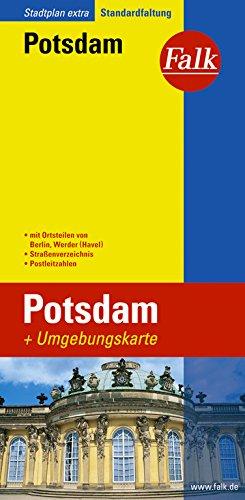 Falk Stadtplan Extra Standardfaltung Potsdam