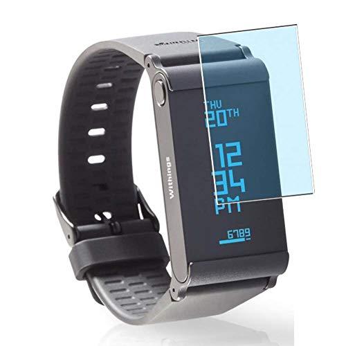 Vaxson 3 Stück Anti Blaulicht Schutzfolie, kompatibel mit Withings Pulse O2 smartwatch Smart Watch, Displayschutzfolie Bildschirmschutz [nicht Panzerglas] Anti Blue Light
