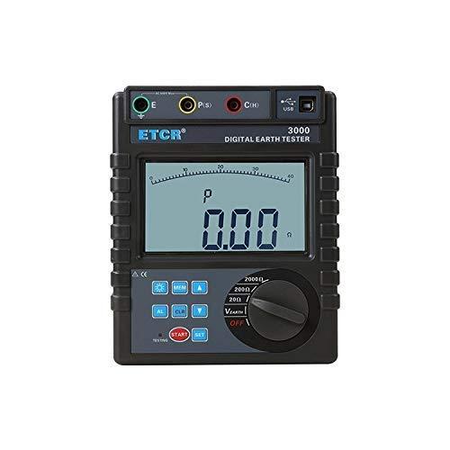 Resistencia de tierra de varios probadores Hold Símbolo Mostrar Leer Ol media V de varios probadores de medidor digital Probador eléctrico