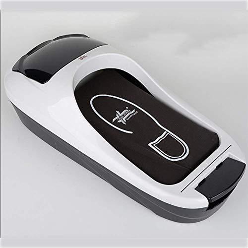BelievE Máquina Automática De Cubierta De Zapatos Máquina De Película De Zapatos, Dispensador Desechable Reutilizable, Fácil De Instalar, Adecuado para La Tienda De La Oficina En El Hogar 600pcs