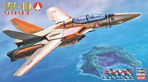 ハセガワ 超時空要塞マクロス VF-1D バルキリー 複座型訓練機 1/72スケール プラモデル 65780