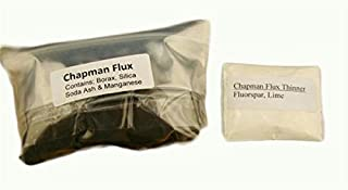 Make Your Own Gold Bars Chapman Flux 1 Lb & Thinner Hank Chapman Jr Flux & Thinner Combo Refine Gold Silver Jewlery Smelting-Assay