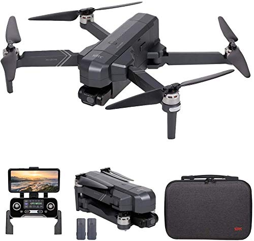 F11 4K PRO GPS Drone, Taotuo 5G WiFi FPV Drone with 4K HD Camera, 2-Axis Gimbal and Brushless Motor, Foldable RC Quadcopter (2 Batterien)