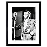 Vintage Photo Singer FRANK Sinatra New York Framed Art