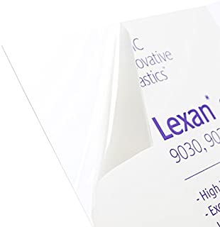 Plastics 2000 Lexan Sheet - Polycarbonate - .030