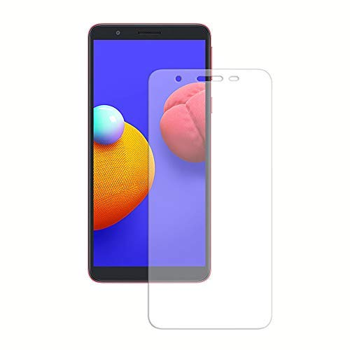 Zivite Premium Gorilla High Transparency Air Bubble Proof Tempered Glass Guard for Samsung Galaxy M01 Core