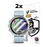 IPG for Garmin Fenix 5S Plus (42MM) Screen Protector (2X) Smartwatch Screen Protector Invisible Ultra HD Clear Film Anti Scratch Skin Guard - Smooth/Self-Healing/Bubble -Free