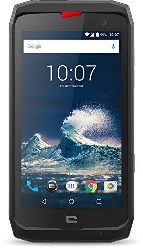 Crosscall Action X3 Smartphone, 32 GB, Nero/Rosso [Italia]