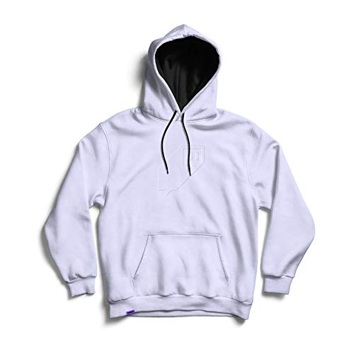 Twitch Puff Glitch Logo Pullover - Ice (Large)