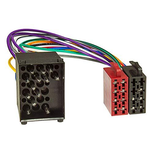 tomzz Audio 7004-001 Radio Adapter Kabel passend für BMW alle Modelle bis 2001, Mini, Rover ab 1999, Landrover bis 2004, Rundpin auf 16pol ISO Norm