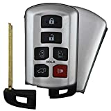QualityKeylessPlus Replacement Keyless Entry Smart Proximity Remote Fob for 2011-2020 Toyota Sienna Van