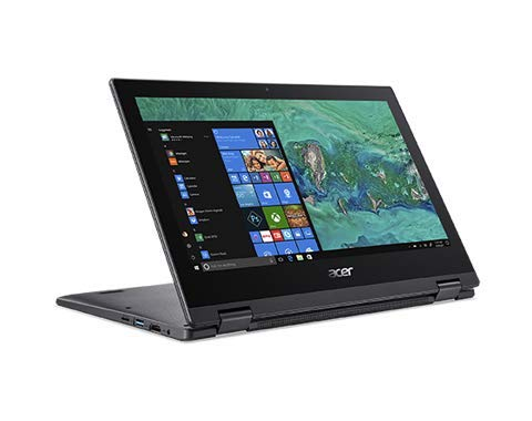 "Newest Acer Spin 11.6"" Convertible HD Touchscreen, Intel Celeron Dual-Core N4000 Processor, 4GB LPDDR4, 64GB SSD, Intel UHD Graphics 600, WiFi, HDMI, Win10-(Renewed)"
