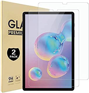 【2枚入り】Galaxy Tab S6 硬度9H 超薄0.3mm 2.5D 耐衝撃 撥油性 超耐久 耐指紋 眼精疲労軽減 日本旭硝子素材採用 飛散防止処理保護フィルム Galaxy Tab S6 対応