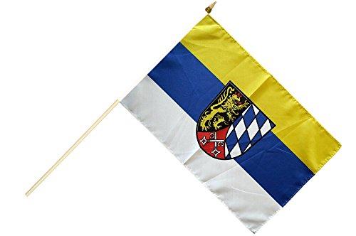 Flaggenfritze® Stockflagge Deutschland Oberpfalz - 30 x 45 cm