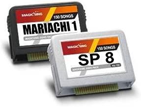 Mariachi Spanish Song Chip for ENTERTECH MAGIC SING Karaoke MIC Magic Sing ED series ED-11000, ED-8000, ED-7000, ED-6000, ED-3000 and ED-9000. ET/MT -Series Mic ET23KH, ET25K, ET25KHC, ET21KV, ET19KV,